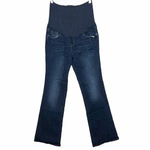 Old Navy Boot Cut Full Panel Maternity Jeans 10